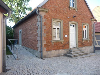 Jobstgreuth Dorferneuerung Gemeindehaus wilder Verband